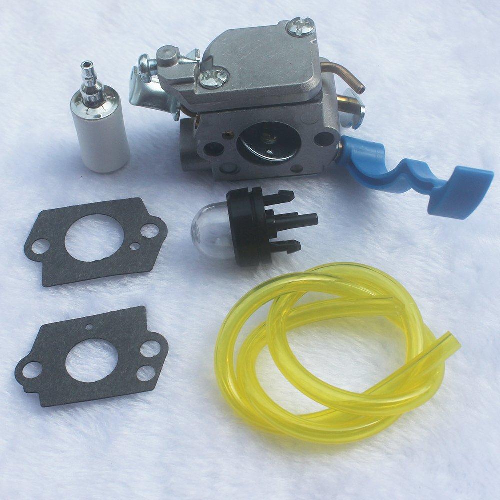 New Carburetor with Gaskets C1Q-W37 for Husqvarna 125B 125BX 125BVX Leaf Blower