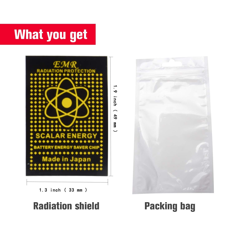 Galleon - 10 Pack - Anti EMF Radiation Protection Shield Sticker