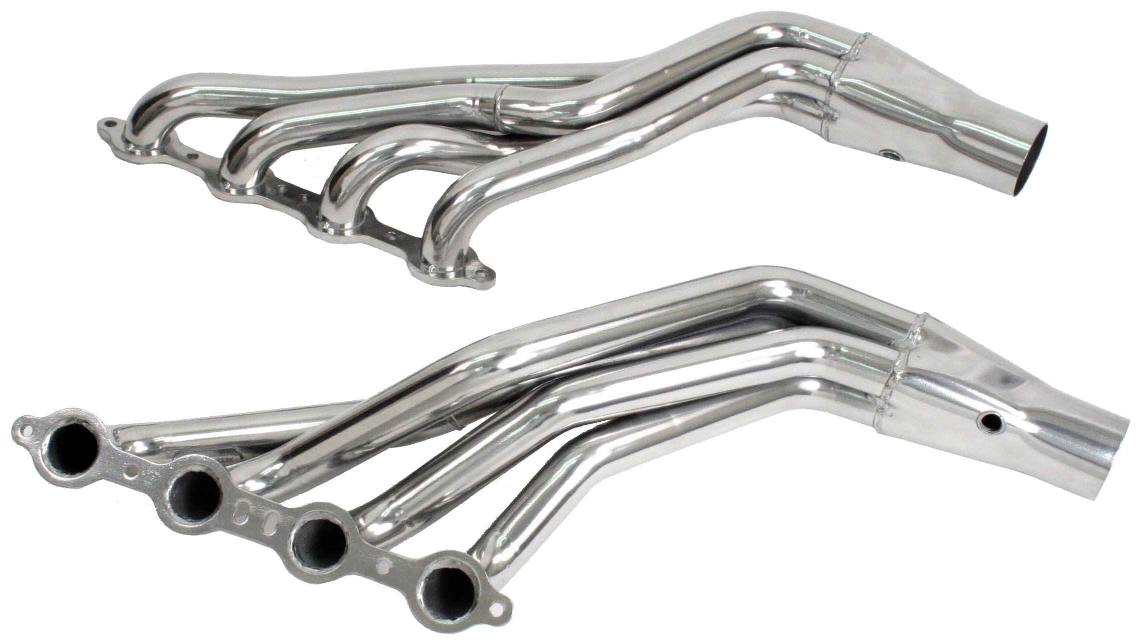 PaceSetter 72C2276 Long Tube Header with Armor Coat for 5.3L, 6.0L Chevy Trailblazer / GMC Envoy 2006-09 by Pacesetter (Image #1)