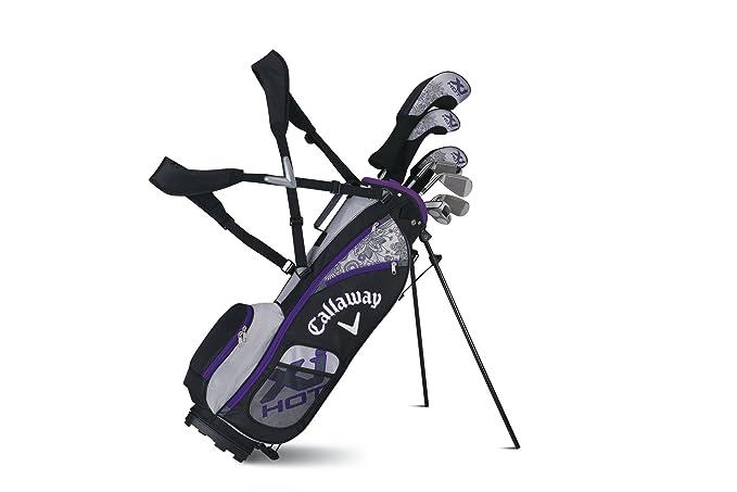 Callaway Xj Junior Hot 9-12 Años Niña - Set de Golf Junior ...