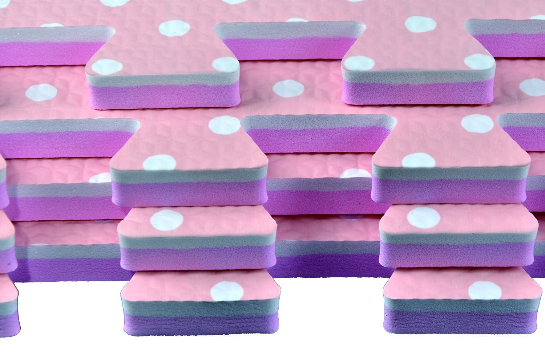 POCO DIVO Giant Play Mat Color Excise Mat Solid Foam Floor