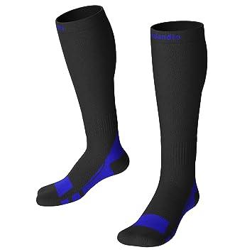 Calcetines de compresión- Calcetines Deporte- Para Hombres y Mujeres Calcetines de Impulso Resistencia Circulación