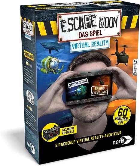 Noris Spiele 606101666 Escape Room Virtual Reality Incluye Gafas ...