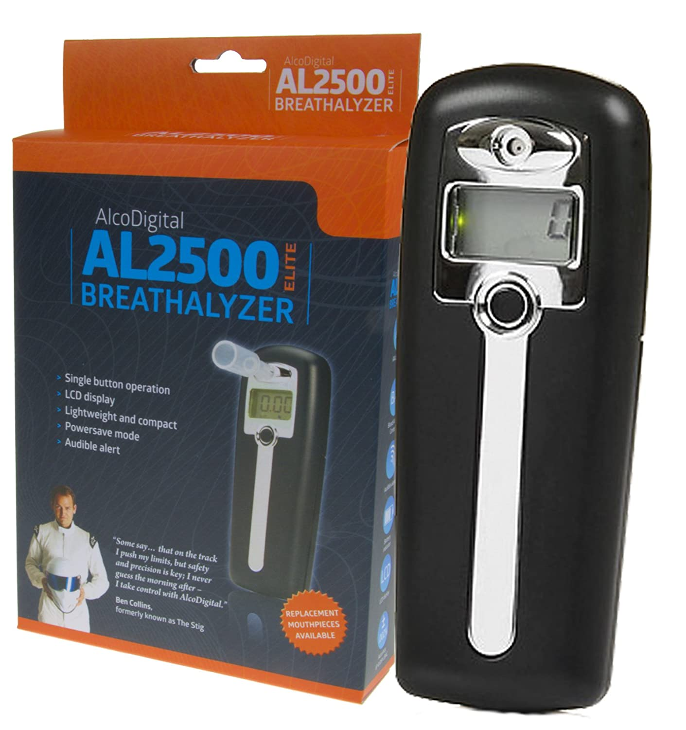 Alcosafe AL2500 Elite Digitaler Alkoholtester