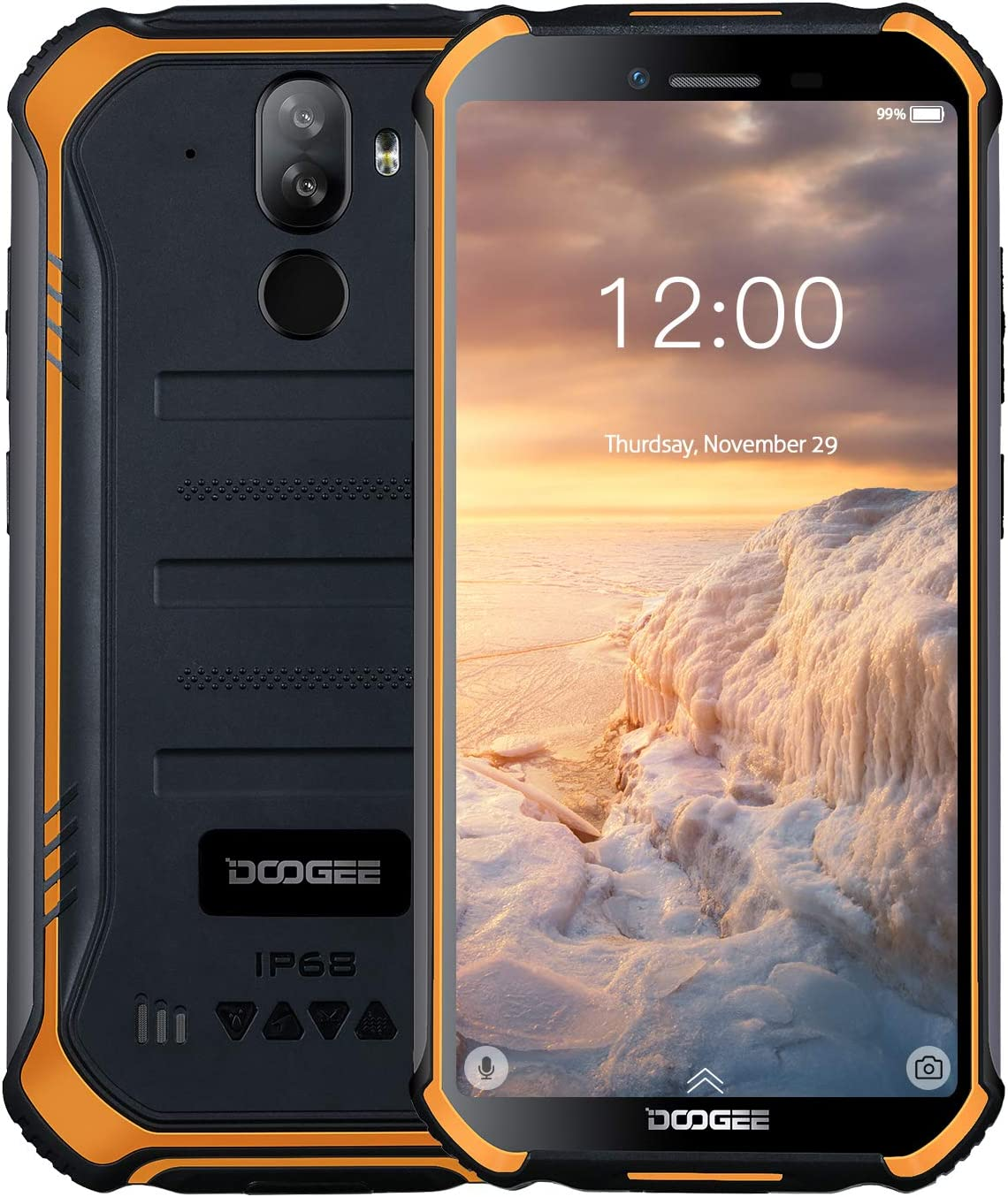 DOOGEE S40 4G Moviles Libres Resistente IP68/IP69K Impermeable ...