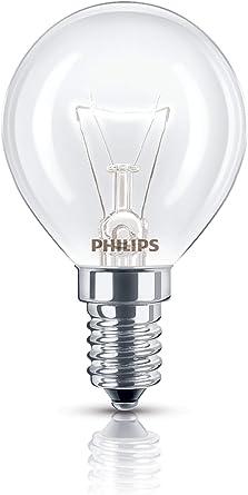 Philips 40W 240V E14 SES P45 Oven GLS Incandescent Appliance Bulb