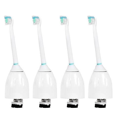 4 uds de cabezales para cepillos de dientes (con tapas) E-Cron®