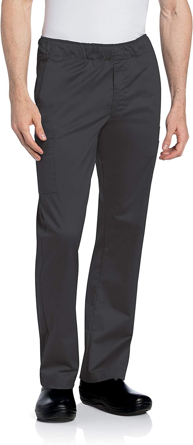 5-Pocket, Classic Relaxed Fit, Straight Leg Medical Cargo Scrub Pants 2012