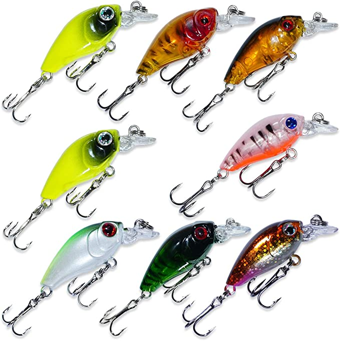 13cm Fishing Lure 8-Segments Fish Bass Swimbait Tackle Bait Hook Lure Crank D3Z4