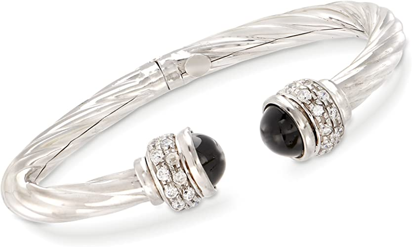 oxidized sterling silver bracelet C shape dainty open bangle 18k gold dotted cuff black patina bracelet Blackened silver and gold cuff