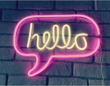12 Hello Sign