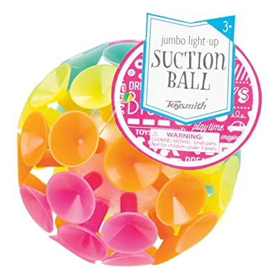 Toysmith Jumbo Suction Ball: Toys & Games
