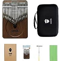 34 Key Chromatic Kalimba C-Tuned | Double Layer Flat Board Thumb Piano Instrument | Music Kalimba Gifts Idea Gift Idea…