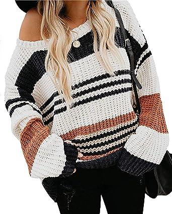 Women Winter Long Sleeve Knit Sweatshirt Sweater Jumper Pullover Fashion Tops