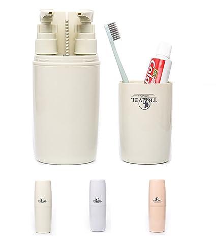 Cepillo de dientes Copa, Pasta de dientes Copa, Portátil de Viaje al Aire Libre