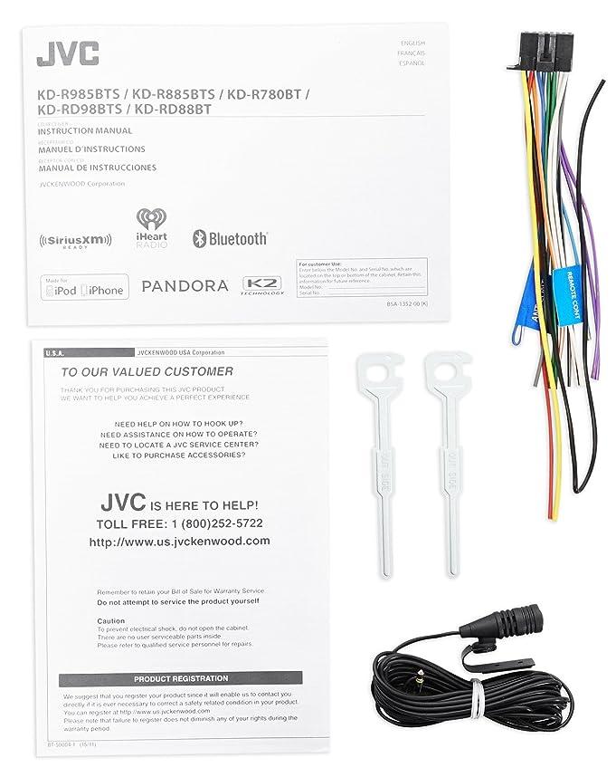 Amazon.com: 1998-2004 Subaru Forester JVC Stereo CD Player/Receiver+ ...