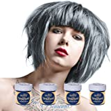 4 x La Riche Directions Semi-Perm Hair Colour Silver (ALL COLOURS Avail) 4x 88ml