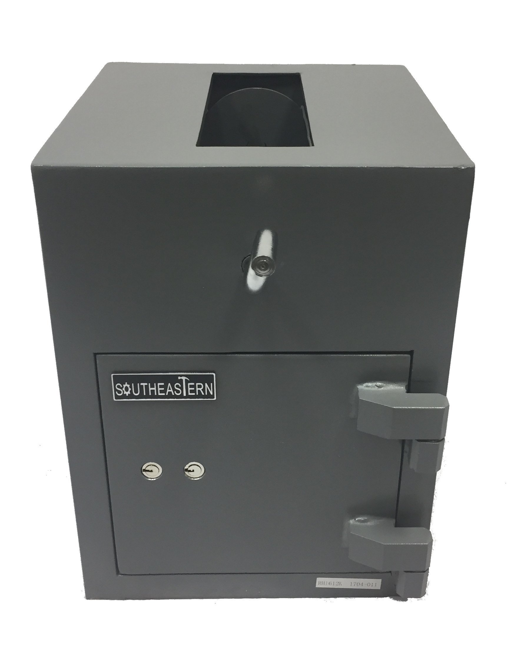 SOUTHEASTERN Top Loading Drop Depository Safe with dual key lock
