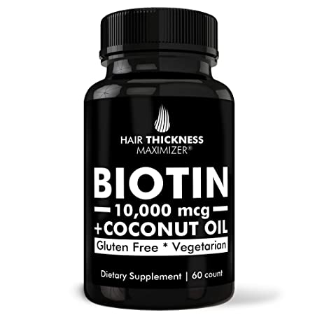 Hair Thickness Maximizer Biotin Hair Pills