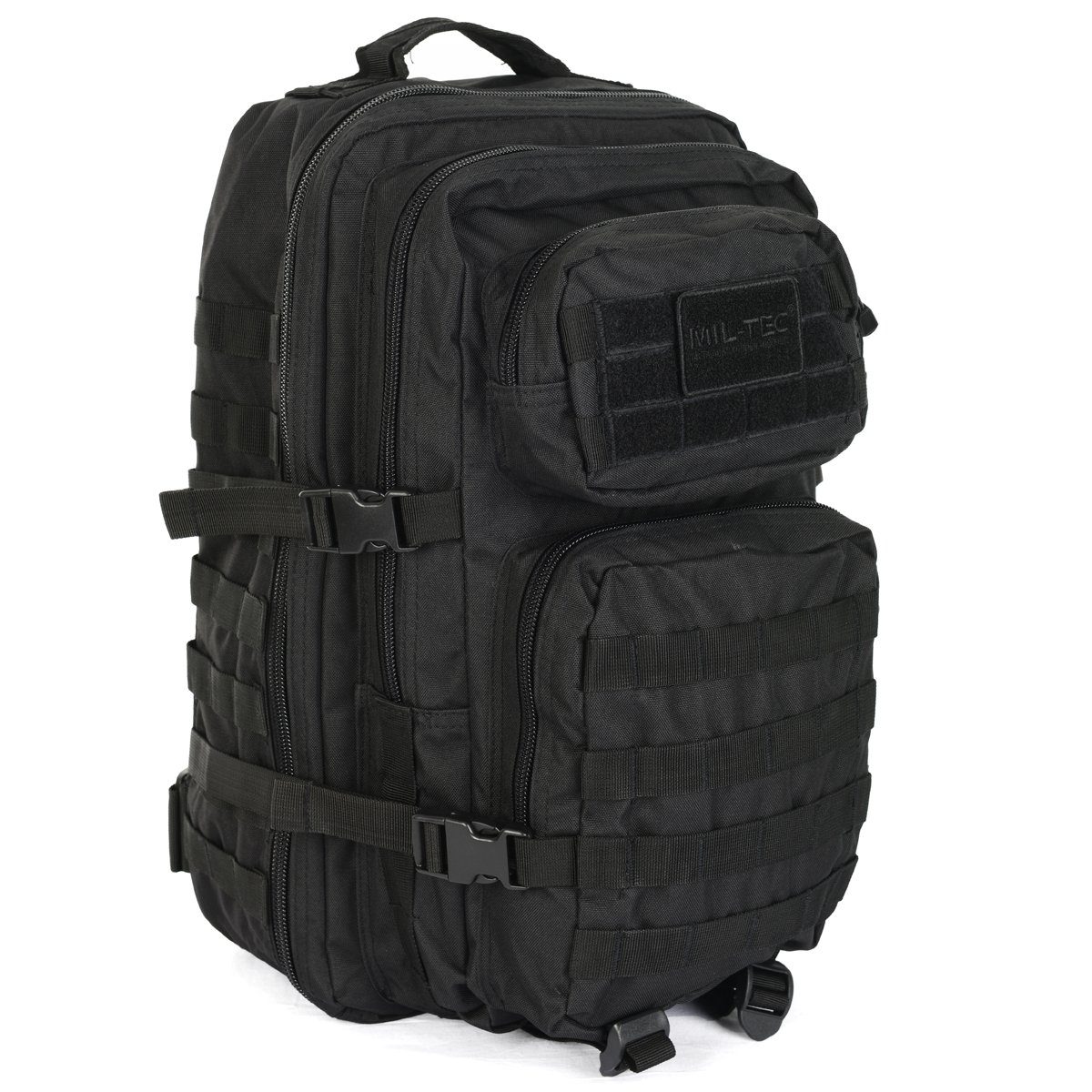 32bbde9aa2 Mil-Tec MOLLE Tactical Assault Backpack - Large 36 Litre (Black)   Amazon.co.uk  Sports   Outdoors