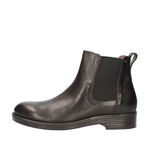 5970a9f058 Nero Giardini Botas Para Hombre Negro Size  41  Amazon.es  Zapatos y  complementos