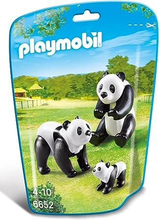 Playmobil #6652 Panda Family New Factory Sealed