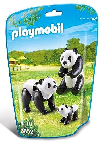 Playmobil 6652 City Life Panda Family(Multi-color)