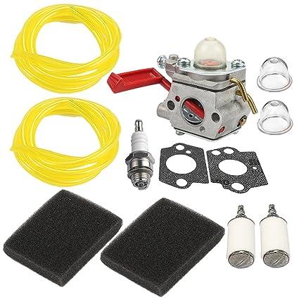 Amazon.com: HIPA up04742 a carburador Filtro de aire línea ...