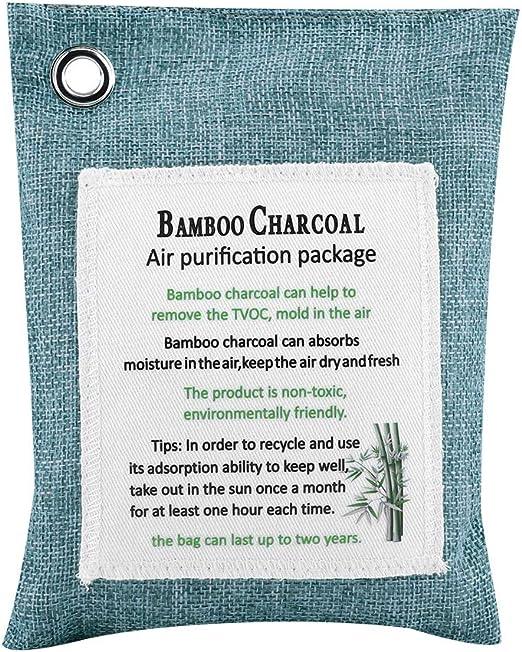 Zerodis Reutilizable Bolsa Antihumedad de Carbón Activo De Bambú ...