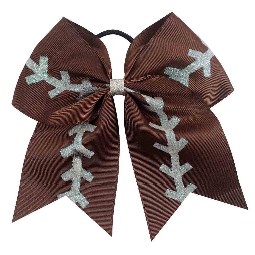 football bow - cheer bow - football cheer bow - cheerbow - sports bow - girls hair bow - hairbow -