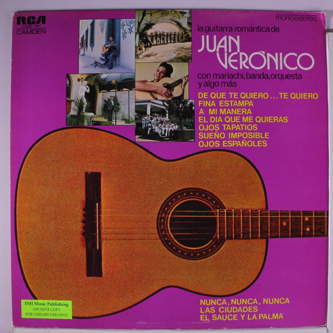 la guitarra romantica de juan veronico con mariachi, banda ...