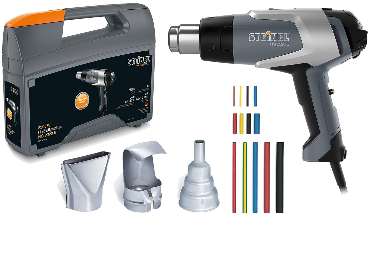 Steinel 351502 Professional HG 2320 E Dé capeur thermique Kit, 2300 W, 650 ° C, 500 L/min 2300W 650°C 500L/min