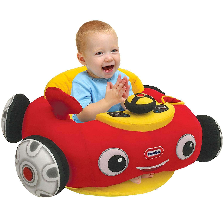 Amazon Com Cozy Coupe Infant Plush Floor Chair Baby Soft Seats