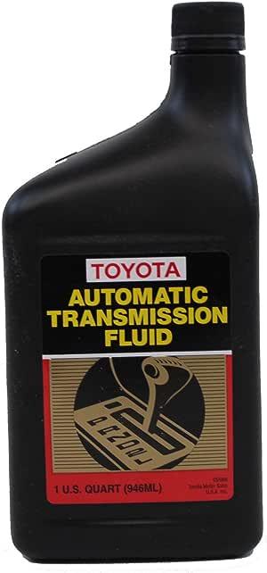 transmission dexron toyota genuine fluid valvoline iii