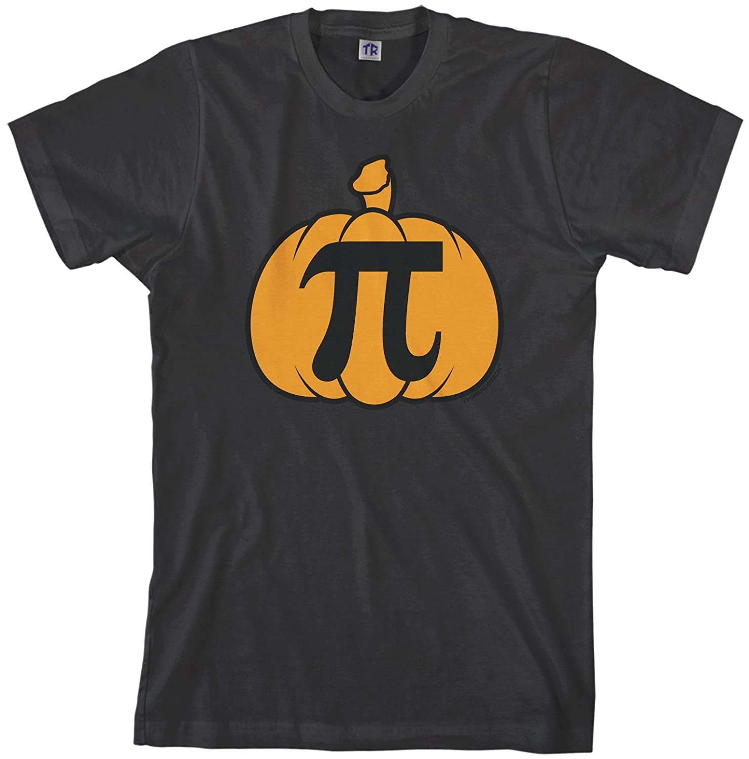 56b36513 Amazon.com: Threadrock Men's Pumpkin Pi T-Shirt: Clothing