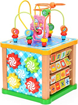 Victostar 7-in-1 Activity Cube For Babies
