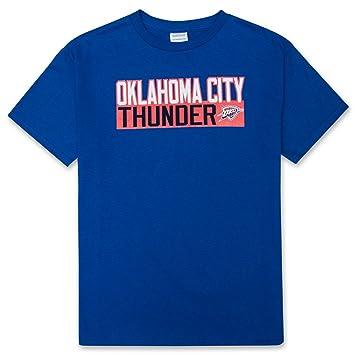 Majestic Russell Westbrook Oklahoma City Thunder # 0 juventud NBA vertical nombre y número camiseta, Azul: Amazon.es: Deportes y aire libre