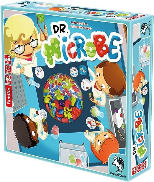 Pegasus Juegos 57101 g – Dr. Microbe: Amazon.es: Juguetes y juegos