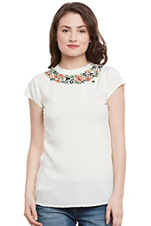 5f32b5f75f THE VANCA Women s Viscose Top  Amazon.in  Clothing   Accessories