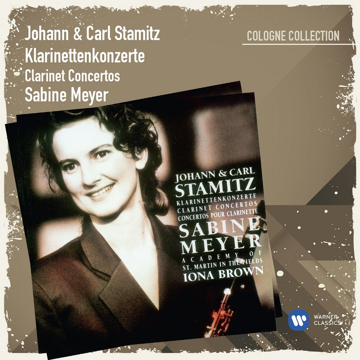CD : Sabine Meyer - Johann & Carl Stamitz: Klarinettenkonzerte 1 (CD)