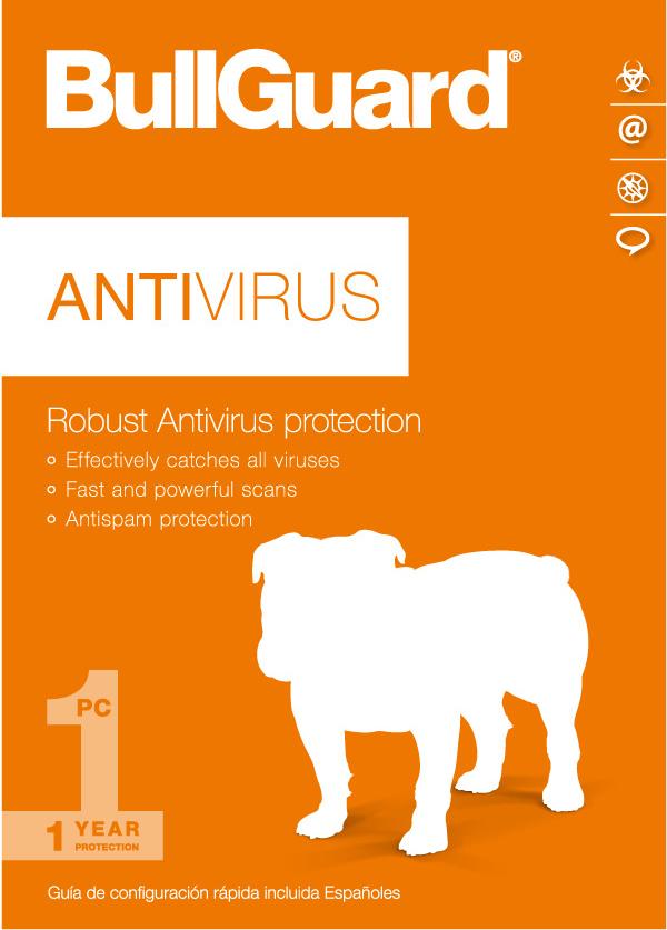 Bullguard Antivirus 2017 (1-user 1-year) [download]