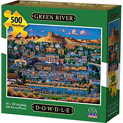 Dowdle Jigsaw Puzzle - Green River - 500 Piece: Toys & Games