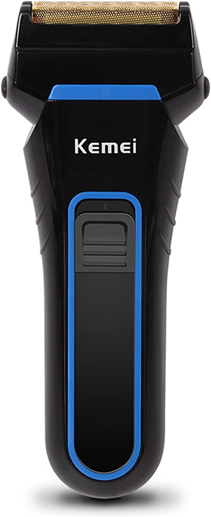 Kemei km-2016 afeitadora eléctrica recargable doble bordo ...