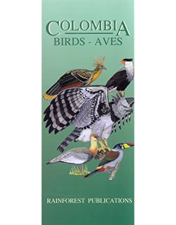 Colombia Birds Guide (Laminated Foldout Pocket Field Guide) (English and Spanish Edition)