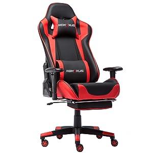 Nokaxus Gaming Chair Large Size High-Back