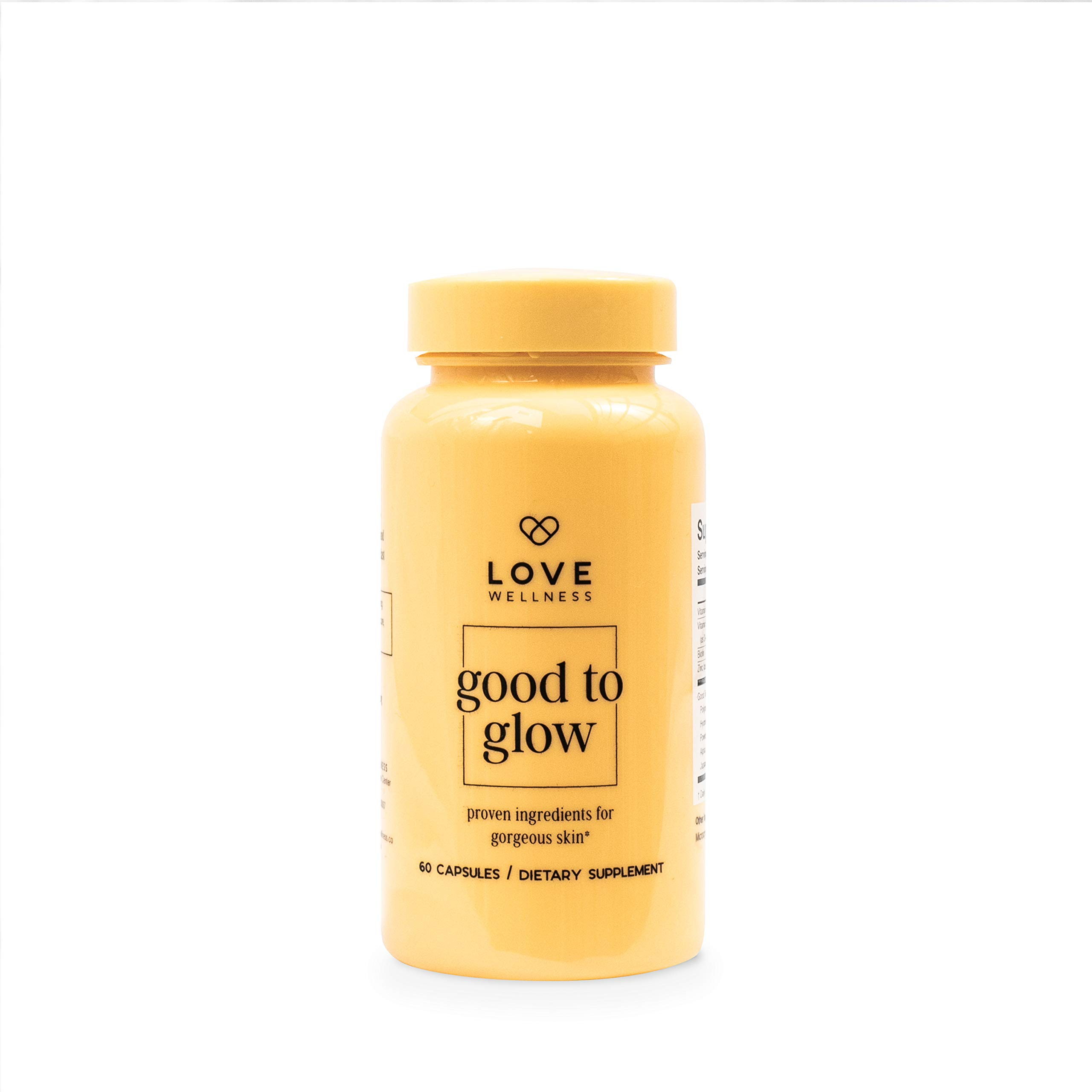 Love Wellness- Good to Glow, Healthy Skin Supplement for Glowing Skin