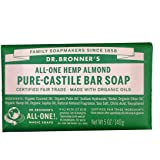 Dr. Bronners Almond Bar Soap 5oz. (2 Pack)