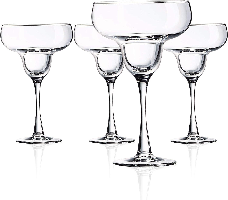 Arc International N7341 Luminarc Cachet 14.5 Ounce Margarita Glass, Set Of 4, Clear