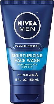 3-Count Nivea Men Maximum Hydration Moisturizing Face Wash 5 Fl. Oz
