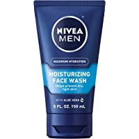 NIVEA MEN Protect & Care Refreshing Face Wash (150 mL), Exfoliating Face Wash for Men with Provitamin B5 & Aloe Vera to…
